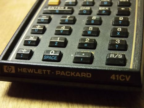 HP-41CV Calculator by TheKid965