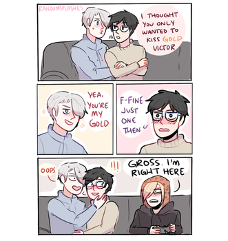 YOI: YOURE MY GOLD by Randomsplashes