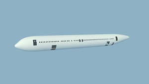 Boeing 767-300 WIP - Critique Wanted! by blenderednelb