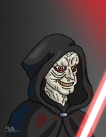 Darth Sidious by Erikku8