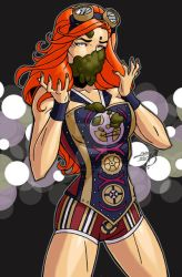 Becky Lynch 2017 COLORED by LucasAckerman