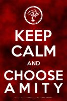 Keep Calm and Choose Amity by arelberg