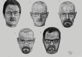 Transformation of Walter White by EduardoLeon