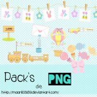 Pack's de Png by maarii03189