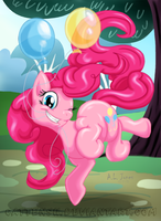 Bouncing with Balloons by Cattensu