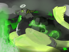 Toxic angel - YCH by imagine--nation