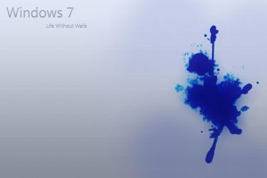 Windows 7 Ink Splash by AbhishekGhosh