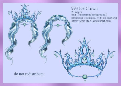 993 Ice Crown by Tigers-stock