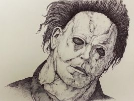 Michael Myers by tap0330