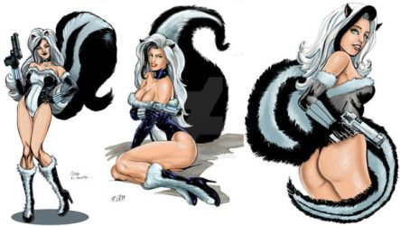 the unbreathable Skunk Girl pre-launch Indiegogo