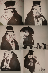 Cobblepot on the brain by TehCK