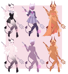 Concubus Adoptables OPEN 2/3 by PetitePasserine