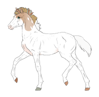 N3340 Padro Foal Design for theliondemon-kaimra by casinuba