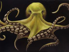 Yellow Octo by crazycolleeny