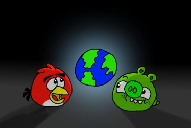 For a Better Place... (Earth Hour 2015) by AngryBirdsStuff