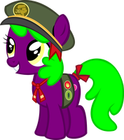 Rose Love oc's filly (guide) vector by luckreza8