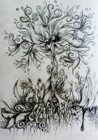 Psychedelic Tree by Realitaetsfern