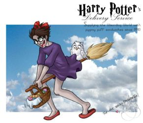 Harry's Delivery Service by leelakin