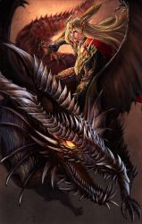 Dragon knight by Tung-Monster