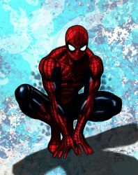Jim Cheung Spider-Man my Colors by JamesLeeStone
