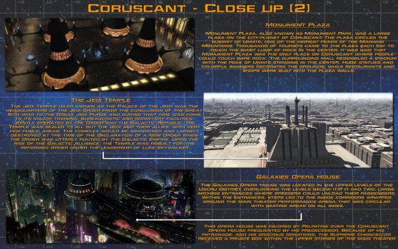 Planetary close up - Coruscant [2] by unusualsuspex