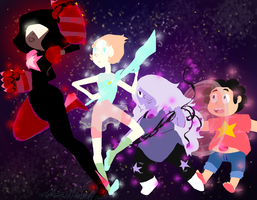 We are the Crystal Gems by HezuNeutral