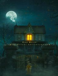 Monster house by Hend-Watani