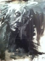 Speed painting acrylic by Lloyken