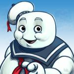 Daily Sketches Mr Stay Puft by fedde
