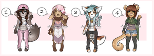Anthro Adopt Batch (Set Price and OTA) (CLOSED) by Adoptables-station