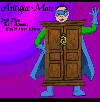Antique-Man by Lordwormm