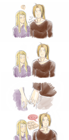 Holding hands by MrsRinrini