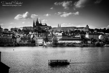 Prague from Charles Bridge by OttoMarzo