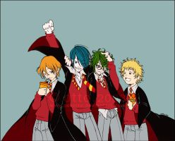 HP . The Marauders by porotto