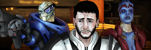 Mass Effect: Team Justice by defineprog
