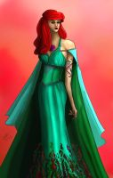 Ariel OUAT Redesign by Elenatintil