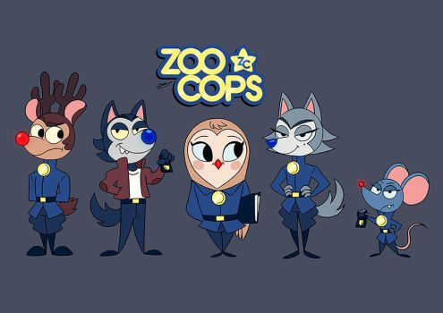 ZOO COPS by GrievousGeneral