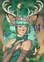 Princess of the Glade by JammyScribbler