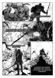 Thorn of hate - Dark Souls comic PAG 4 by thunderalchemist18