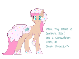 Sprinkle Star by foxthepegasister