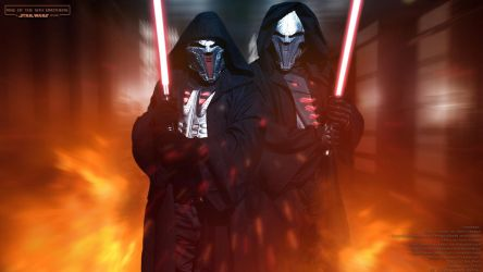 Rise of the Sith Brothers (Cosplay Wallpaper) by Joran-Belar