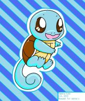 Chibi Squirtle by pameratyan