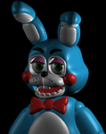Toy Bonnie Finished fnaf (Old model) by Coydoor