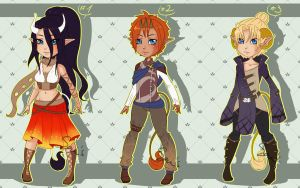Famano Adoptable Auction batch 2 [CLOSED] by sonisadopts