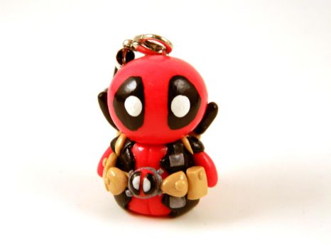 Deadpool Charm by Xiiilucky13