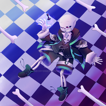 ChessTale Sans ''Checkmate'' by NecryoNics