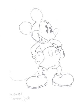 Mickey Mouse by punk-pixie