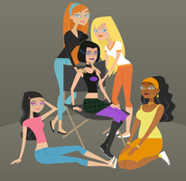 Danny Phantom Girls - spectacles version by Juliefan21