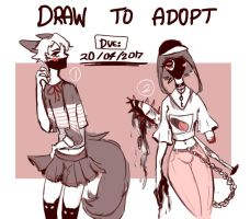 [CLOSED] DTA SKETCH ADOPTS by pokoliaa