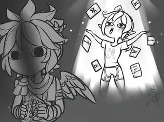 Theunspokenprophet 161 80 Kid Icarus On The Switch By Stella TheFox